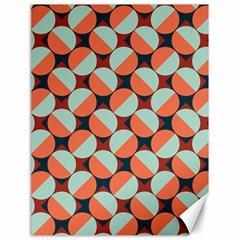 Modernist Geometric Tiles Canvas 18  X 24   by DanaeStudio