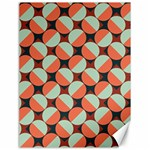 Modernist Geometric Tiles Canvas 18  x 24