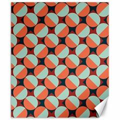 Modernist Geometric Tiles Canvas 20  X 24   by DanaeStudio