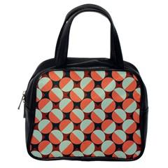 Modernist Geometric Tiles Classic Handbags (one Side) by DanaeStudio
