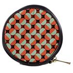 Modernist Geometric Tiles Mini Makeup Bags