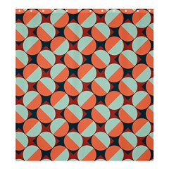 Modernist Geometric Tiles Shower Curtain 66  X 72  (large)  by DanaeStudio