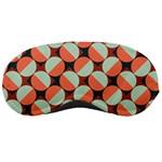 Modernist Geometric Tiles Sleeping Masks