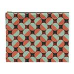 Modernist Geometric Tiles Cosmetic Bag (XL)