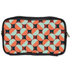 Modernist Geometric Tiles Toiletries Bags by DanaeStudio