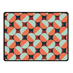 Modernist Geometric Tiles Fleece Blanket (small) by DanaeStudio