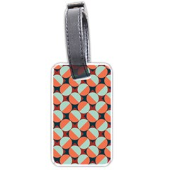 Modernist Geometric Tiles Luggage Tags (two Sides) by DanaeStudio