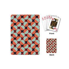 Modernist Geometric Tiles Playing Cards (mini)  by DanaeStudio
