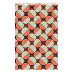 Modernist Geometric Tiles Shower Curtain 48  x 72  (Small)