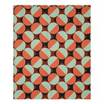 Modernist Geometric Tiles Shower Curtain 60  x 72  (Medium)