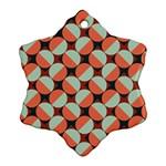 Modernist Geometric Tiles Ornament (Snowflake)