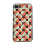 Modernist Geometric Tiles Apple iPhone 4 Case (Clear)