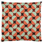 Modernist Geometric Tiles Large Cushion Case (One Side)