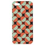 Modernist Geometric Tiles Apple iPhone 5 Hardshell Case