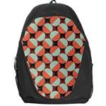 Modernist Geometric Tiles Backpack Bag
