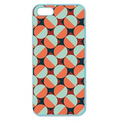 Modernist Geometric Tiles Apple Seamless Iphone 5 Case (color) by DanaeStudio