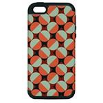 Modernist Geometric Tiles Apple iPhone 5 Hardshell Case (PC+Silicone)