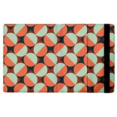 Modernist Geometric Tiles Apple Ipad 2 Flip Case by DanaeStudio