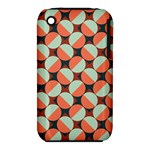 Modernist Geometric Tiles Apple iPhone 3G/3GS Hardshell Case (PC+Silicone)