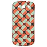 Modernist Geometric Tiles Samsung Galaxy S3 S III Classic Hardshell Back Case