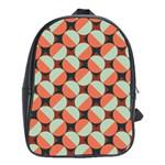 Modernist Geometric Tiles School Bags (XL)