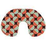 Modernist Geometric Tiles Travel Neck Pillows