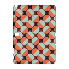 Modernist Geometric Tiles Samsung Galaxy Note 10 1 (p600) Hardshell Case by DanaeStudio