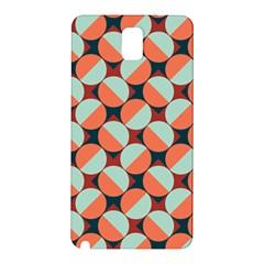Modernist Geometric Tiles Samsung Galaxy Note 3 N9005 Hardshell Back Case by DanaeStudio