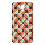 Modernist Geometric Tiles Samsung Galaxy S5 Back Case (White)