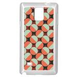 Modernist Geometric Tiles Samsung Galaxy Note 4 Case (White)