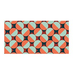 Modernist Geometric Tiles Satin Wrap by DanaeStudio