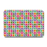 Modernist Floral Tiles Small Doormat