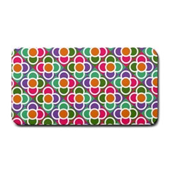 Modernist Floral Tiles Medium Bar Mats by DanaeStudio