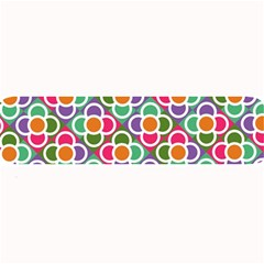Modernist Floral Tiles Large Bar Mats by DanaeStudio