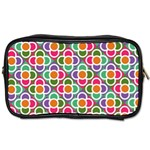 Modernist Floral Tiles Toiletries Bags 2-Side