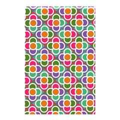 Modernist Floral Tiles Shower Curtain 48  X 72  (small)  by DanaeStudio