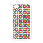 Modernist Floral Tiles Apple iPhone 4 Case (White)