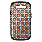 Modernist Floral Tiles Samsung Galaxy S III Hardshell Case (PC+Silicone)
