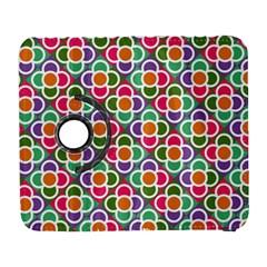 Modernist Floral Tiles Samsung Galaxy S  Iii Flip 360 Case by DanaeStudio