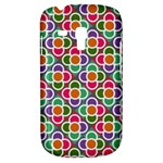 Modernist Floral Tiles Samsung Galaxy S3 MINI I8190 Hardshell Case