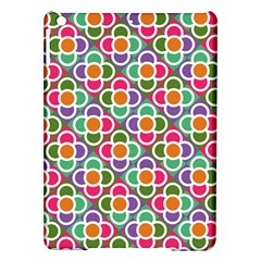 Modernist Floral Tiles Ipad Air Hardshell Cases by DanaeStudio