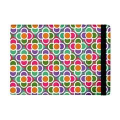 Modernist Floral Tiles Ipad Mini 2 Flip Cases by DanaeStudio