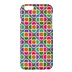 Modernist Floral Tiles Apple Iphone 6 Plus/6s Plus Hardshell Case by DanaeStudio