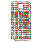 Modernist Floral Tiles Galaxy Note 4 Back Case