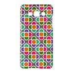Modernist Floral Tiles Samsung Galaxy A5 Hardshell Case