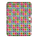 Modernist Floral Tiles Samsung Galaxy Tab 4 (10.1 ) Hardshell Case