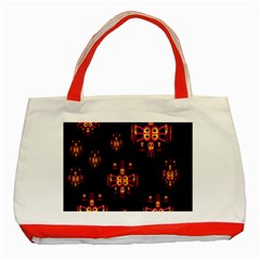 Alphabet Shirtjhjervbretili Classic Tote Bag (red) by MRTACPANS