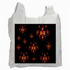 Alphabet Shirtjhjervbretili Recycle Bag (one Side) by MRTACPANS