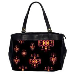Alphabet Shirtjhjervbretili Office Handbags (2 Sides)  by MRTACPANS