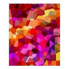 Geometric Fall Pattern Shower Curtain 60  X 72  (medium)  by DanaeStudio